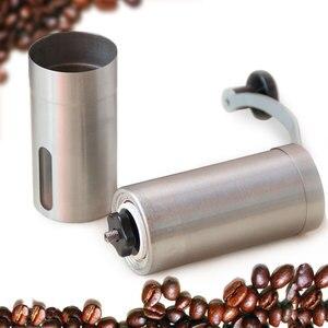 Image 3 - Przenośny szlifierka ze stali nierdzewnej domowy ekspres do kawy ręczna młynek do pieprzu młynek do kawy domowy młynek do kuchni narzędzia