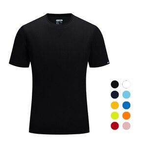 Бренд SANHENG Мужская Летняя Повседневная Уличная Футболка мужская Спортивная футболка размера плюс спортивные быстросохнущие дышащие топы