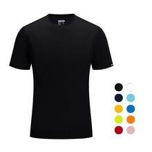 Brand SANHENG Men Summer Casual Outdoor T Shirt Men Sports T Shirt Plus Size Sport Fast Dry Breathable Tops