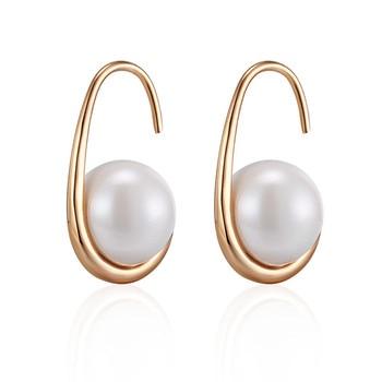 Μαϊκάλε σκουλαρίκια mε 10 χιλιοστά λευκό μαργαριτάρι Κοσμήματα Σκουλαρίκια Αξεσουάρ MSOW