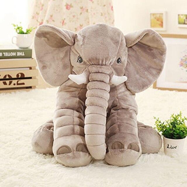 40cm/60cm elephant Height Large Plush Doll Toy Kids Sleeping Back Cushion Cute Stuffed pillow Baby Accompany Doll Xmas Gift 1