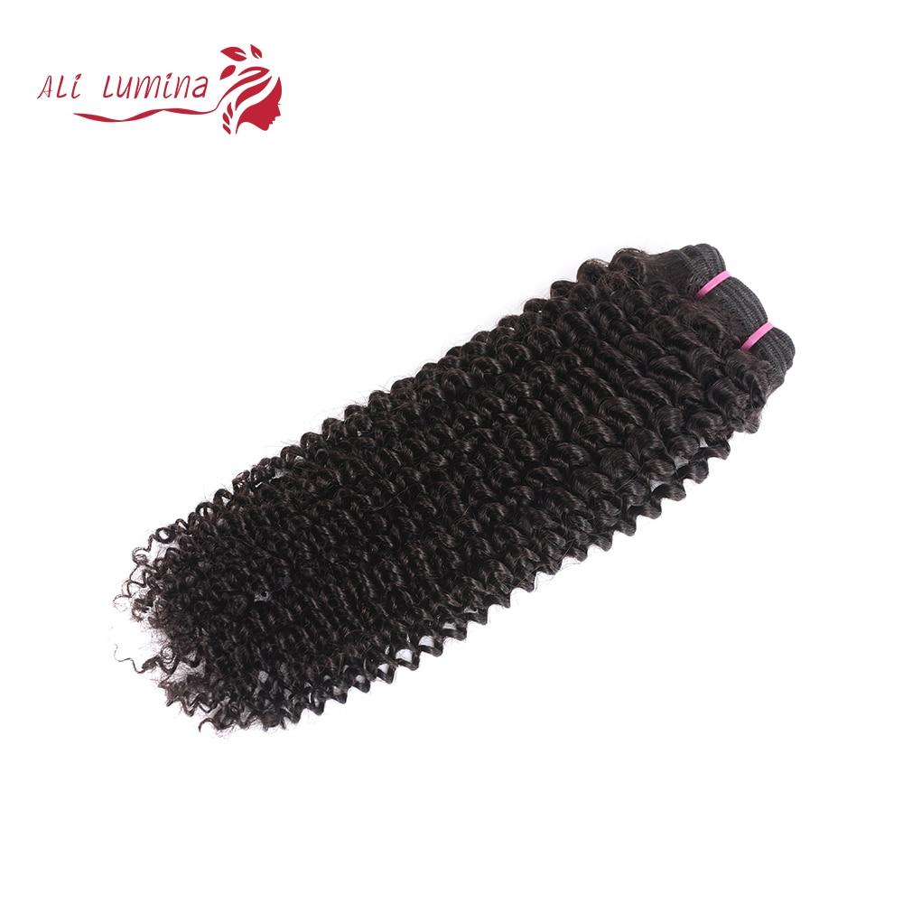 Kinky Curly Bundles 100%  s Natural Color 1 3 4 Bundles   8 - 30 40 Inch Length 5