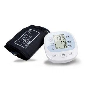 Image 2 - Monitor de pulso, monitor de pulso, pressão arterial para braço, monitor automático completo de pulso, cuidados de hipertensão