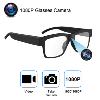 1080P HD Mini Camcorders Camera Video Driving Record Glasses Cycling Video Smart Glasses With Eyewear Camcorder For Outdoor 1
