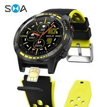 Смарт-часы SMA M7S мужские с Sim-картой 2020 GPS Strava водонепроницаемые фитнес-часы для женщин Смарт-часы для Xiaomi Android