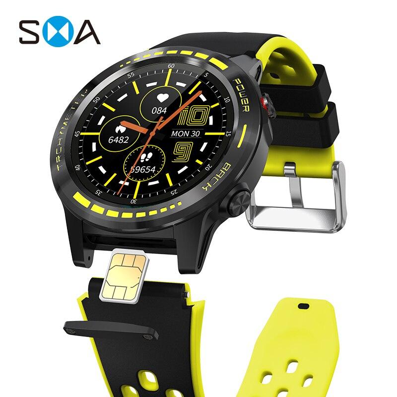 Смарт-часы SMA M7S мужские с Sim-картой 2021 GPS Strava водонепроницаемые фитнес-часы для женщин Смарт-часы для Xiaomi Android