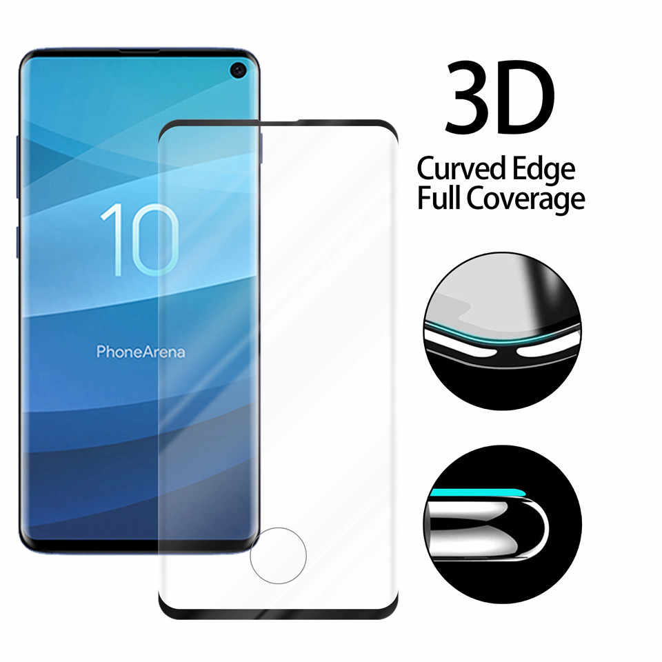 2pcs full cover tempered glass screen protector for Samsung Note10/S10/5G/S9/S8/Plus/Note 9/8/S7/S6/Edge/Plus case friendly film