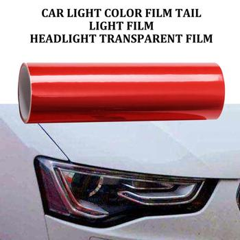 Car Headlights Color Film Tail Light Film Headlights Transparent Film Chameleon Car Foil Mobile Phone Laptop Stickers image