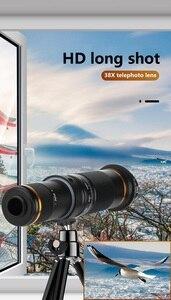 Image 4 - 38X Zoom teleobiektyw HD monokularowy teleskop telefon obiektyw aparatu dla IPhone 11 Xs Max XR Samsung Android Smartphone Mobile