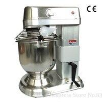 20 litre paslanmaz çelik hamur yoğurma makinesi ticari elektrikli yumurta çırpıcı endüstriyel gıda karıştırıcı 1.1kw 220V|Gıda Karıştırıcılar|   -