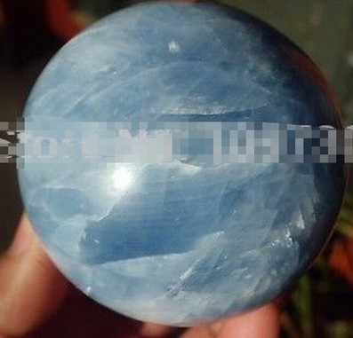 YM 326 الطبيعية Celestite الكوارتز كرة كريستال الكرة شفاء الصين