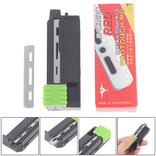 15Pcs Men's Shaver Feather Blades Stainless Steel Replacement Razor Knives Blade Fixed Blade Razor Tactical Blades