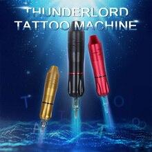 THUNDERLORD Tattoo Pen Rotary Gun Tattoo Machine with Quiet Motor Lining Shading Cartridge Needles  For Semi Permanent Tattoo