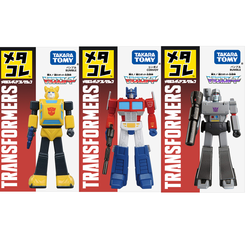 Takara Tomy Transformers Optimus Prime Figure Takara Tomy Megatron Bumblebee Diecast Metal Model Toys Gift Collections