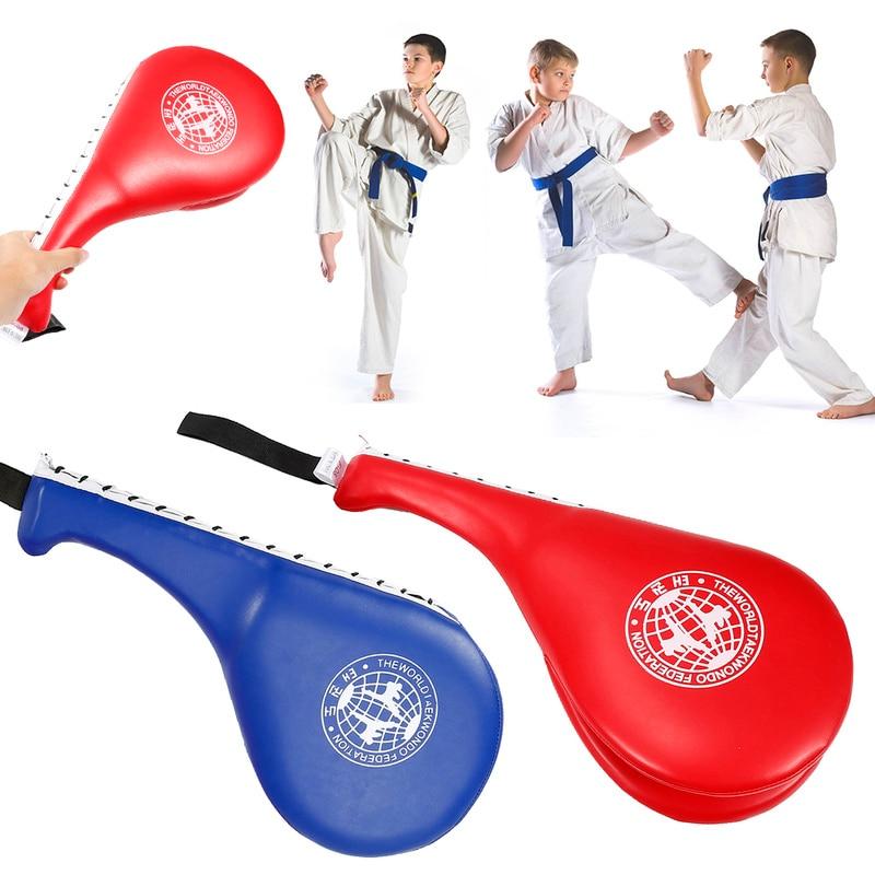 Pack of 2 Durable Kick Pads Elite Sports Taekwondo Kick Pads