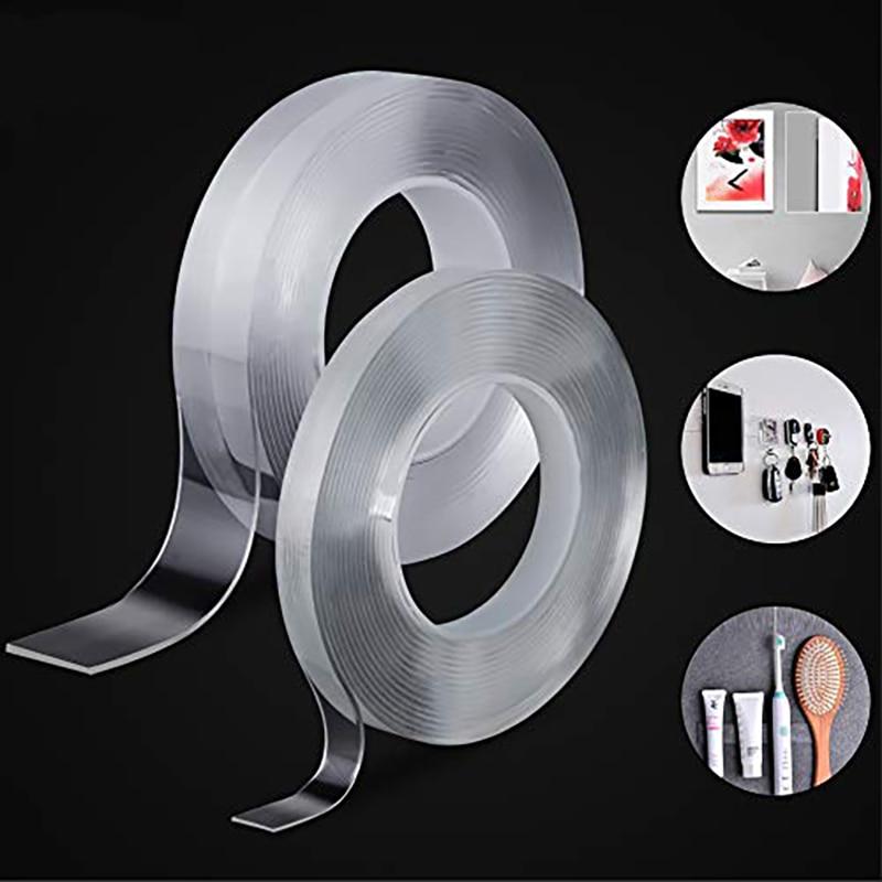 3m Transparent Double Scotch Face ruban adhésif pour salle de bain autocollant étanche voiture haute Super forte Silicone dobble