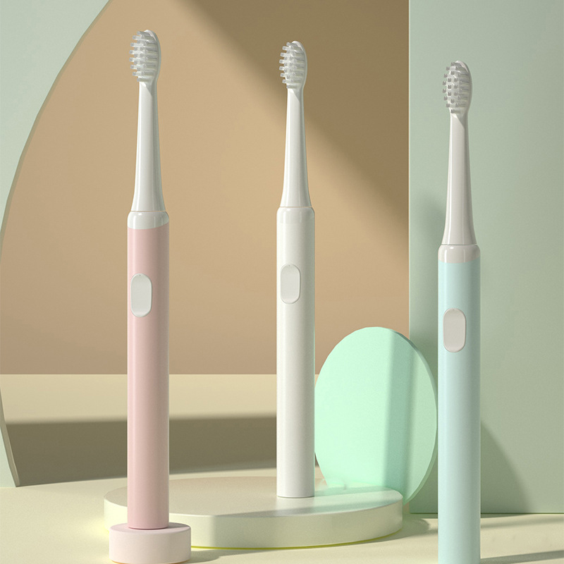 -Sonic Electric Toothbrush Lightweight Portable Sonic Wave Rechargeable Toothbrush Best Gifts