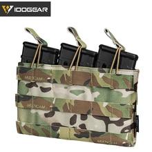 Сумка шоппер для магазина IDO GEAR 5,56 Mag, Сумка с открытым верхом, армейская Экипировка для страйкбола, сумка для военных и тактических магазинов 3526