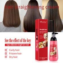 Cream Straightening Comb 150ml Ion Ironing-Does Not-Hurt