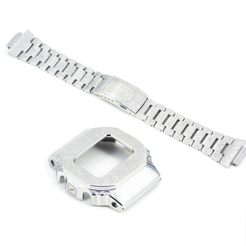 New 2020 316L Stainless Steel Watch Band Case For Casio G-shock GWM-B5000 DW-5600 Watch Bezel For g shock For GLX-5600