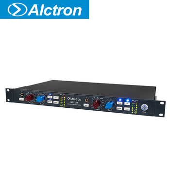 Alctron MP73X2 dual channel mic amp, amp the signal carefully, used in studio,stage performance