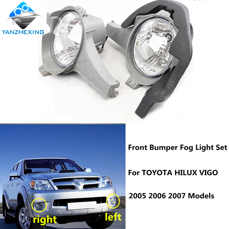 Front Bumper for Toyota Hilux Mk6 ABS plastic 2005-2008 pickup panel vigo