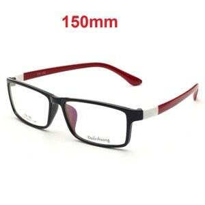 Image 1 - CUBOJUE 150 ミリメートル特大メガネ男性女性眼鏡フレームワイド顔処方箋ハイグレートアセテートテンプル眼鏡 TR90 近視視度眼鏡