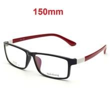 CUBOJUE 150 مللي متر المتضخم نظارات الرجال النساء النظارات إطارات واسعة الوجه رجل وصفة طبية TR90 قصر النظر الديوبتر النظارات