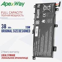ApexWay 38 Втч 7,5 в для Asus C21NI333 C21N1333 0B200-00860400 X454 TP550LA TP550LD TP550L tp550 TP550LA TP550LD TP550LJ