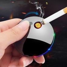 Творческий НЛО Портативный encendedor electrico курительных