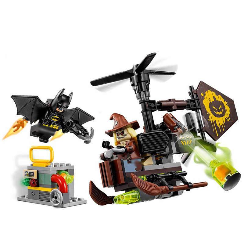 156Pcs Die Scarecrow Ängstlicher Gesicht-Off Bausteine Bricks Kompatibel MarvelBatman Spielzeug für Kinder Geschenk 10736