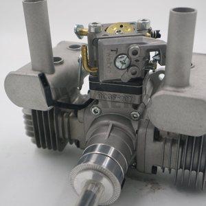 Image 2 - جديد وصول! RCGF 21CCT V2 21cc المزدوج اسطوانة البنزين/محرك البنزين ل RC طائرة