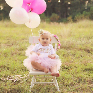 Вечерние платья с единорогом для 1 года; Одежда для маленьких девочек на День рождения; нарядное платье-пачка; платья на крестины для малышей; 12 месяцев