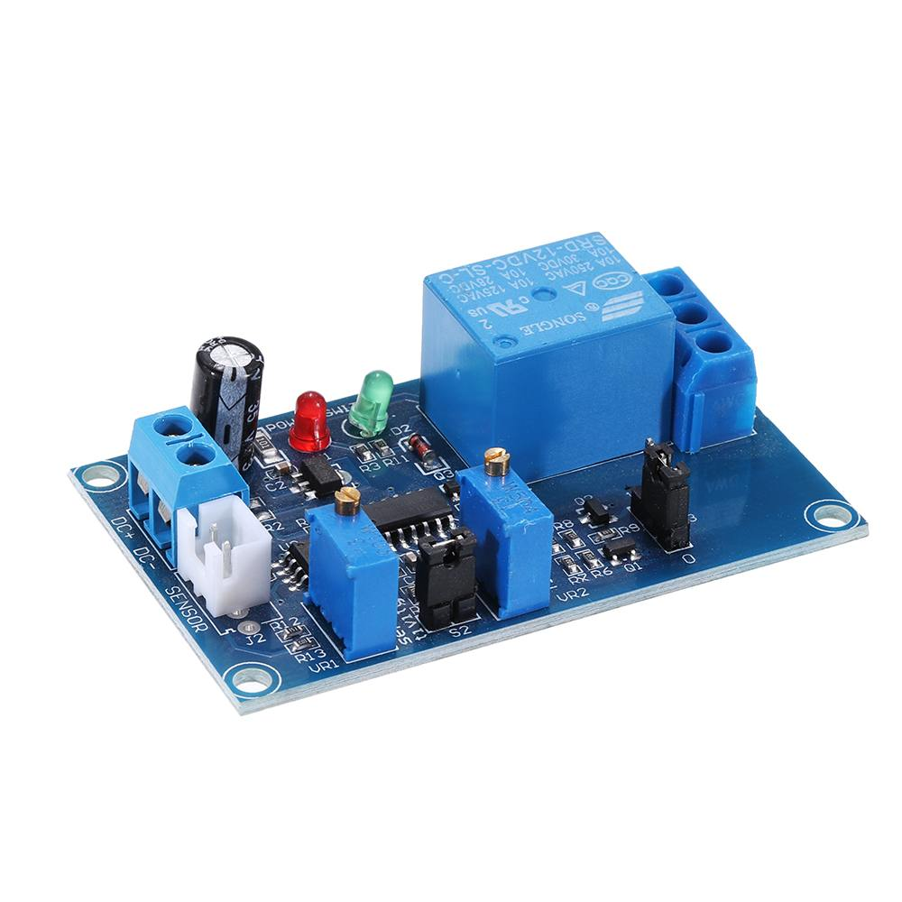 12V Photoresistor Relay Module Light Detection Photosensitive Sensor Switch Board