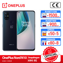 oneplus nord n10 5g OnePlus Official Store Estreia mundial versão global 6gb 128 snapdragon 690 smartphone 90hz exibição 64mp quad cams warp 30t nfc