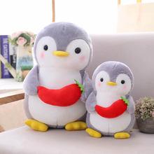 Креативные милые фрукты пингвин плюшевые мягкие игрушки для