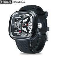 Nuevo Zeblaze híbrido 2 Smartwatch Frecuencia Cardíaca presión arterial 50M impermeable ejercicio seguimiento sueño notificaciones inteligentes