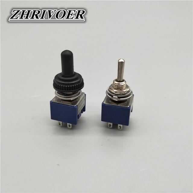 5 pièces interrupteur à bascule Mini commutateurs 2 positions 3 positions interrupteur de verrouillage MTS-102/103/202/203 ON-ON SPDT ON-OFF -ON SPDT DPDT