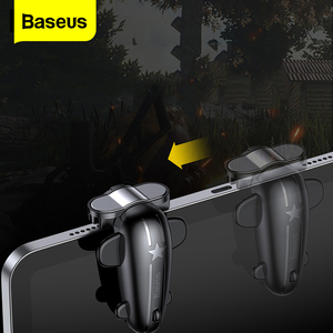 Baseus PUBG Control Gaming L1R1 Shooter Trigger For PUBG Controller Fire Button For iPad Mobile Phone PUBG Game Joystick Gamepad