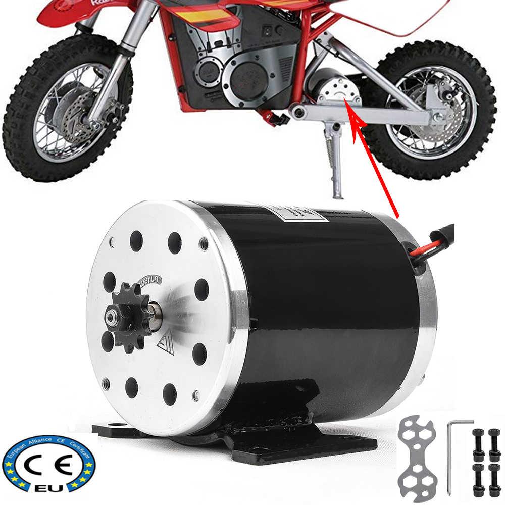 36V 48V 500W 1000Wความเร็วสูงDCมอเตอร์สำหรับยานพาหนะไฟฟ้าGo Kartสกู๊ตเตอร์EจักรยานจักรยานATV Mopedจักรยานมินิ