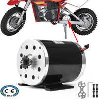 36V 48V 500W 1000W Hohe Geschwindigkeit Gebürstet DC Motor für Elektrische Fahrzeug Gehen Kart Roller E bike Motorisierte Fahrrad ATV Moped Ebike
