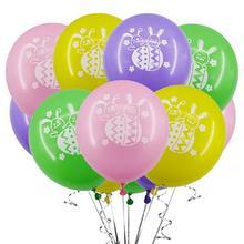 12 дюймов, пасхальные шары, декоративные креативные пасхальные шары, милый кролик, печатные шары, Мультяшные латексные шары