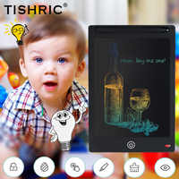 TISHRIC Colors LCD Writing Tablet With Stylus For Drawing Graphics Tablet Screen Kids Writing Board Educational Toys Children