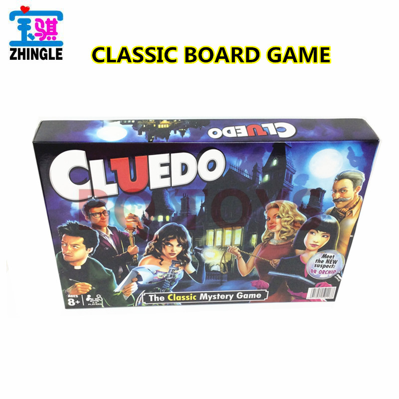 English board game 2-6 person reasoning attack game Classic Cluedo Game image