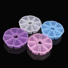 8 решетчатых отсеков пластиковый прозрачный органайзер чехол