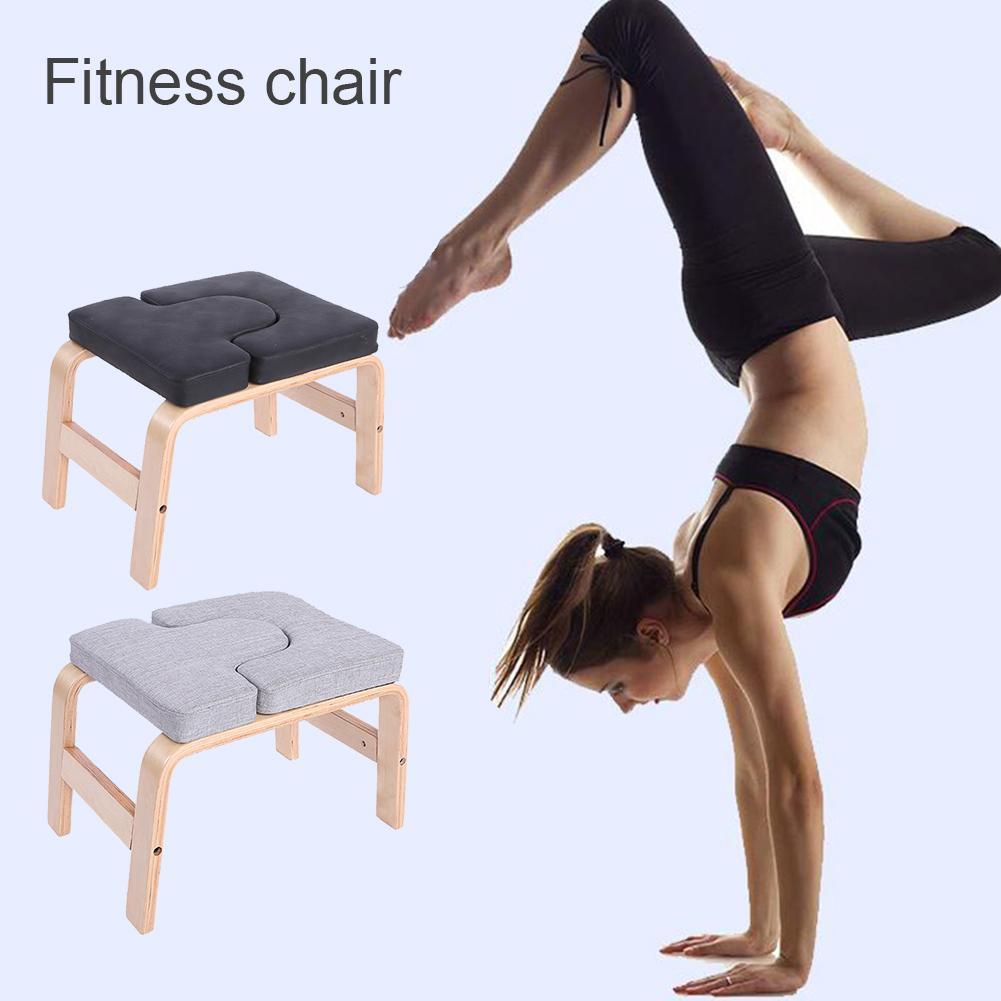 Yoga Headstand Bench Exercises