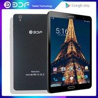 Bdf novo 8 Polegada android 6.0 tablet pc quad core wifi bluethooth google play 1 gb ram 32 gb rom computador portátil crianças tablets phonecall