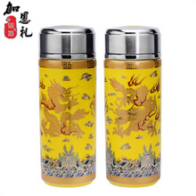 Sterling silver product creative daily fashion sports cup portable stainless steel vacuum flask mug thermos