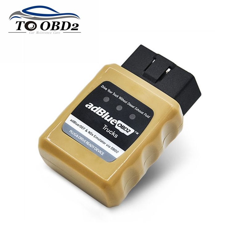 Best Price AdBlue Emulator Professional NOX Emulation AdblueOBD2 Plug&Drive Ready Device By OBD2 Trucks Adblue OBD 2 For Volvo