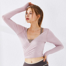 Reversible Womens Sport Shirt Yoga Top Workout Tops For Women T-shirt Fitness Woman Sports Wear Gym Jersey Female Sports Blouse(China)